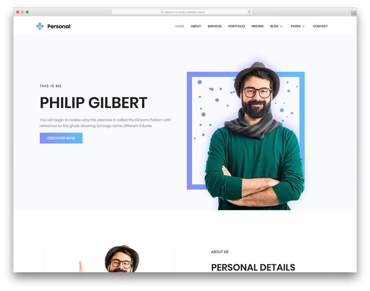 plantilla-gratis-wordpress-personal