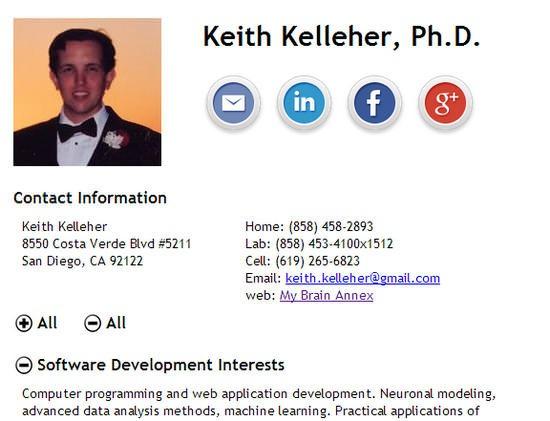 currículum en html