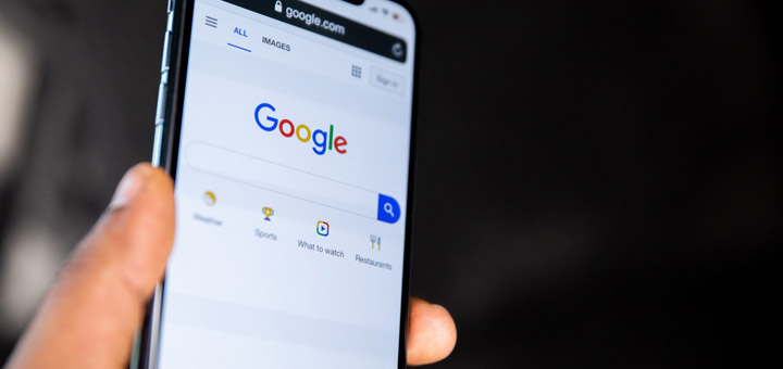 Google mano celular