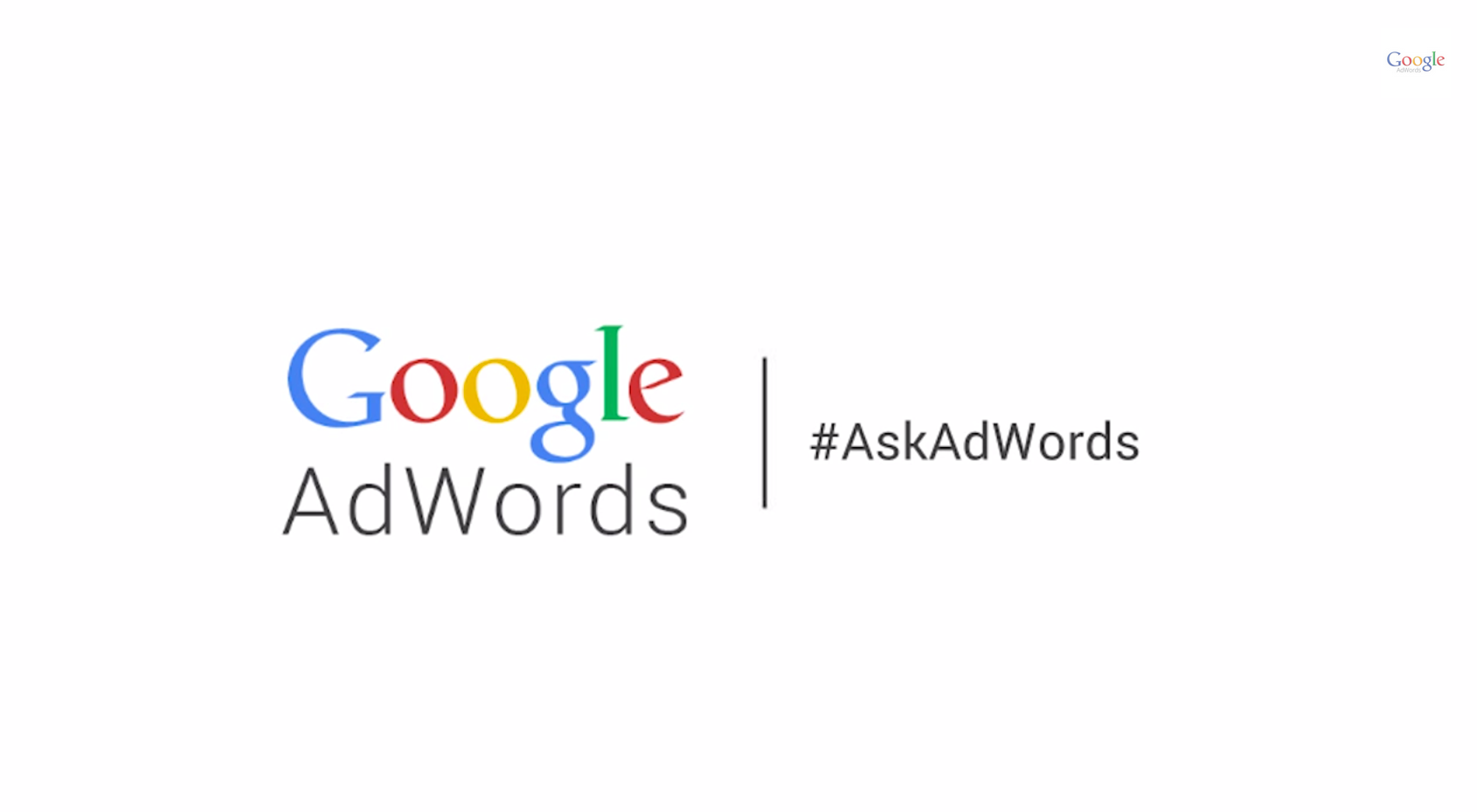 Logotipo Google Adwords