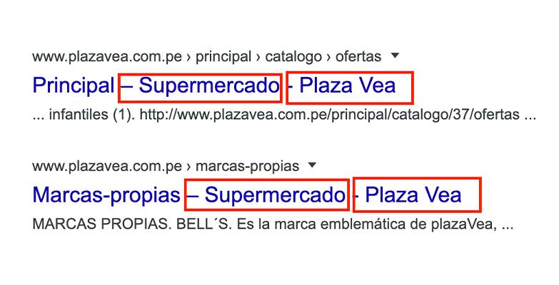 ejemplo supermercado plaza vea