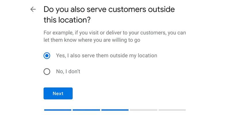 elige atiendes usuarios fuera ubicacion