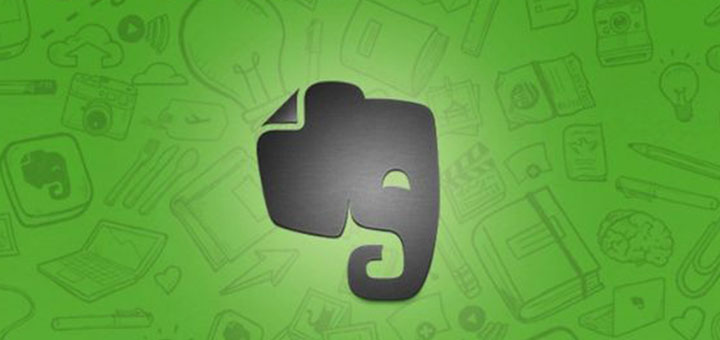 guarda información con Evernote