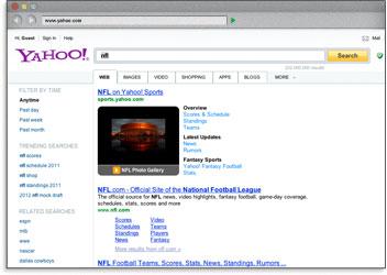 Búsqueda en Yahoo
