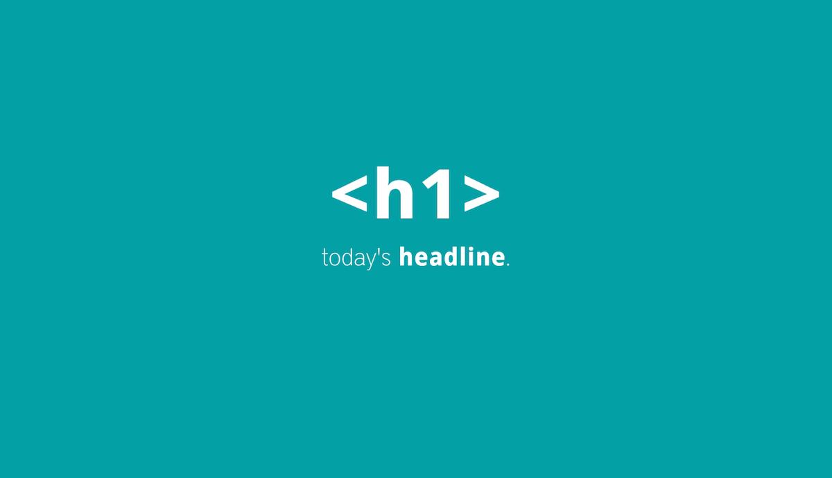 H1 headline