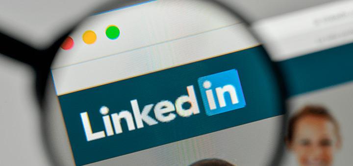 imagen corporativa en Internet linkedin