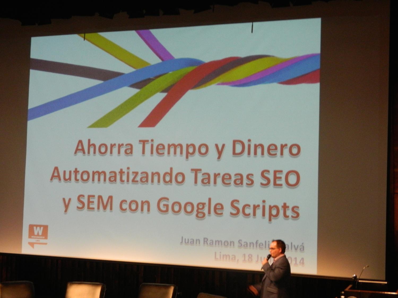 Automatizando tareas SEO y SEM con Google Scripts