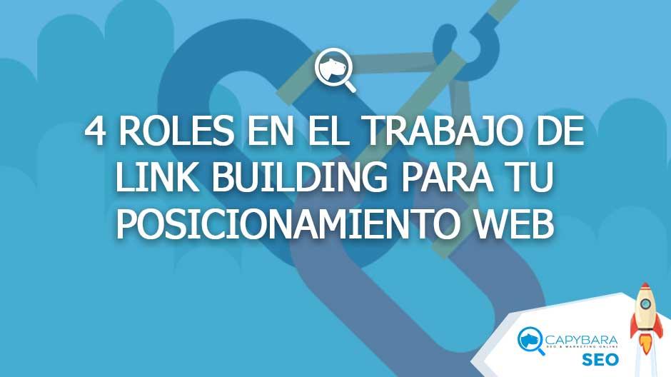 Roles en el trabajo de linkbuilding