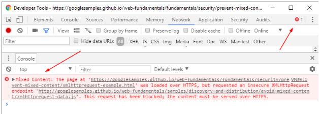 lista de recursos bloqueados y seguridad web