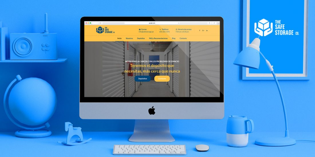 proyecto seo the safe storage