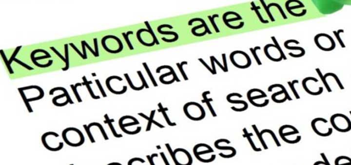 palabra clave keyword