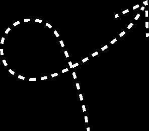 Flecha curva ícono