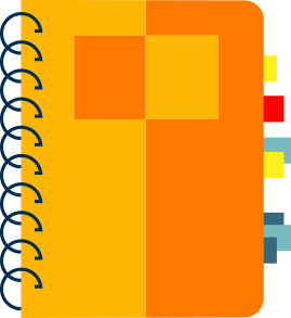 reporte seo gratis vector cuaderno