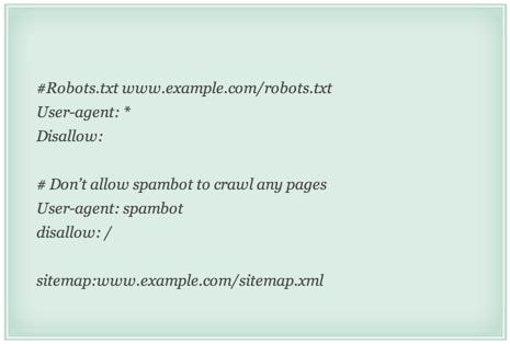 Robots txt ejemplos