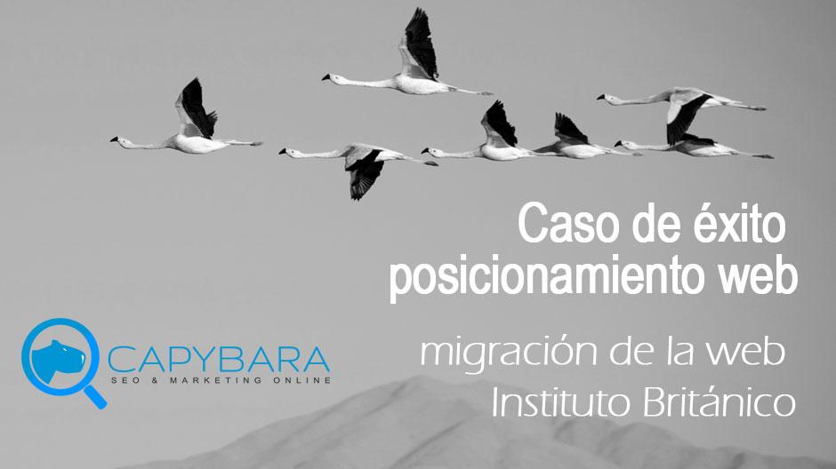 posicionamiento web migración seo