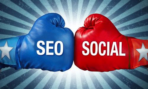 Social media y posicionamiento web seo