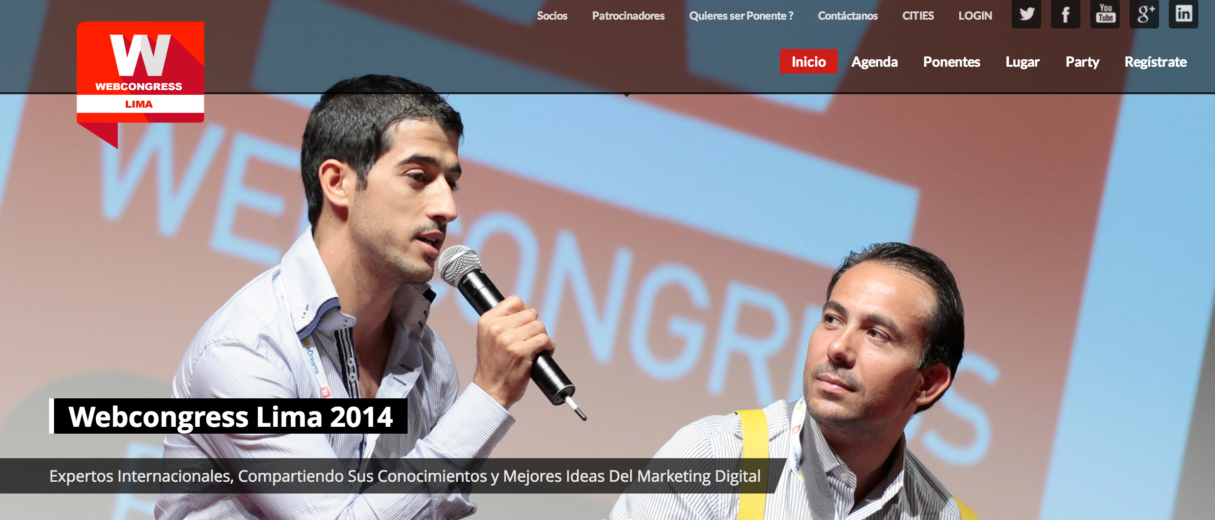 webcongress lima 2014